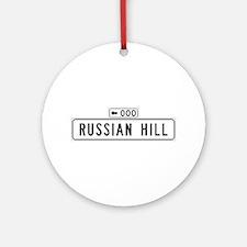 Russian Hill, San Francisco - USA Ornament (Round