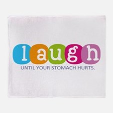 Laugh Throw Blanket