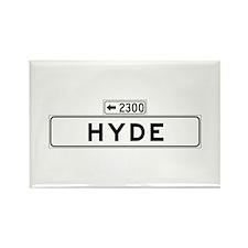 Hyde St., San Francisco - USA Rectangle Magnet