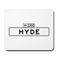 Hyde St., San Francisco - USA Mousepad