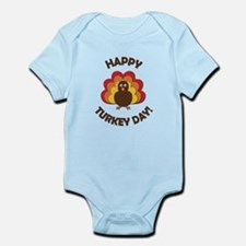 Happy Turkey Day! Infant Bodysuit