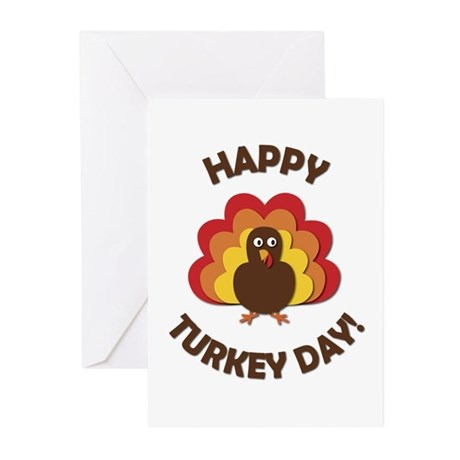 Happy Turkey Day! Greeting Cards (Pk of 20)