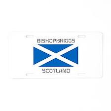 Bishopbriggs Scotland Aluminum License Plate