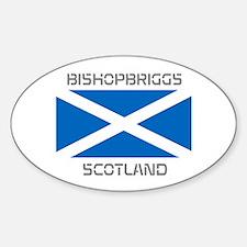 Bishopbriggs Scotland Sticker (Oval)