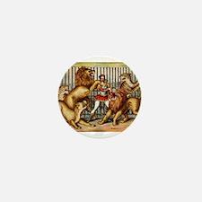 Lion Tamer Mini Button