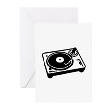 Turntable DJ Greeting Cards (Pk of 20)