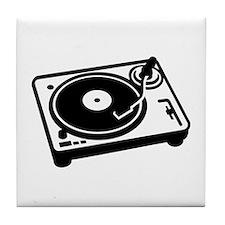 Turntable DJ Tile Coaster