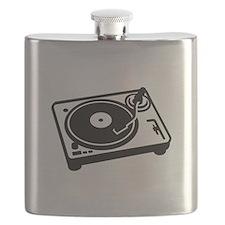 Turntable DJ Flask
