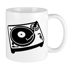 Turntable DJ Mug