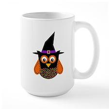 Adorable Halloween Owl Mugs