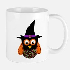 Adorable Halloween Owl Mugs