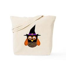 Adorable Halloween Owl Tote Bag