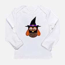 Adorable Halloween Owl Long Sleeve T-Shirt