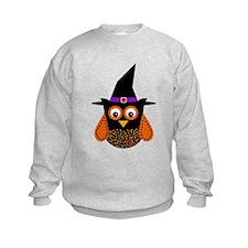 Adorable Halloween Owl Sweatshirt