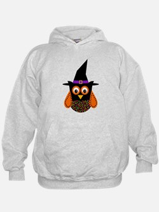 Adorable Halloween Owl Hoodie