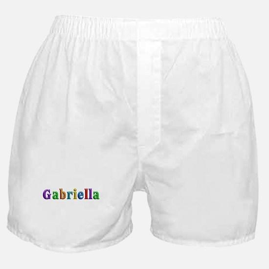 Gabriella Shiny Colors Boxer Shorts