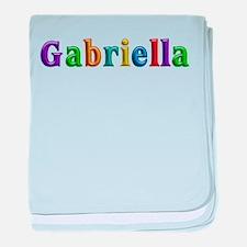Gabriella Shiny Colors baby blanket