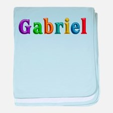 Gabriel Shiny Colors baby blanket