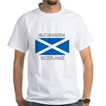 Buckhaven Scotland White T-Shirt