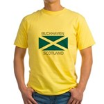 Buckhaven Scotland Yellow T-Shirt