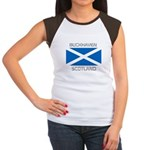 Buckhaven Scotland Women's Cap Sleeve T-Shirt