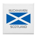 Buckhaven Scotland Tile Coaster
