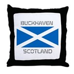 Buckhaven Scotland Throw Pillow