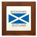 Buckhaven Scotland Framed Tile
