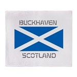 Buckhaven Scotland Throw Blanket