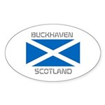 Buckhaven Scotland Sticker (Oval 10 pk)