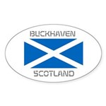 Buckhaven Scotland Sticker (Oval 50 pk)