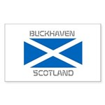 Buckhaven Scotland Sticker (Rectangle 10 pk)