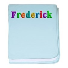 Frederick Shiny Colors baby blanket