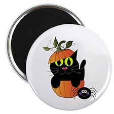 Adorable Kitty Halloween Magnets