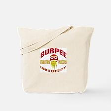 Burpee University Tote Bag