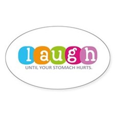 Laugh Decal