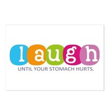 Laugh Postcards (Package of 8)