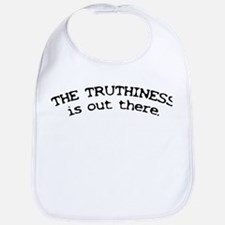 Truthiness is Out There Bib