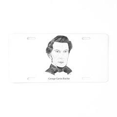 George Gavin Ritchie Aluminum License Plate
