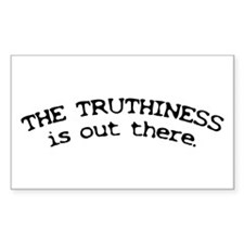 Stephen Colbert/Truthiness Rectangle Decal