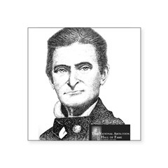 "John Brown Square Sticker 3"" x 3"""