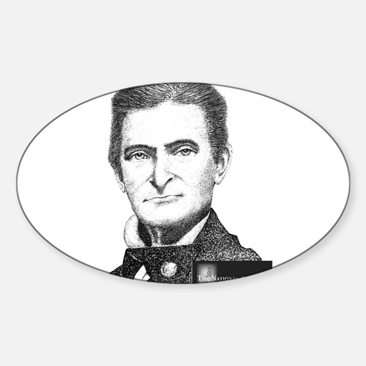 John Brown Sticker (Oval)