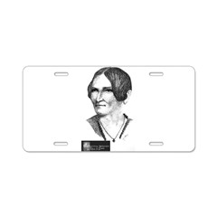 Child Flores Aluminum License Plate