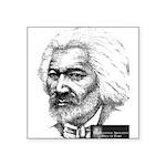 Douglass with Logo.jpg Square Sticker 3