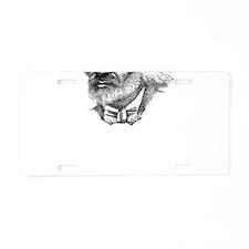 Douglass with Logo.jpg Aluminum License Plate