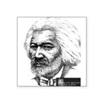 Frederick Douglass Square Sticker 3