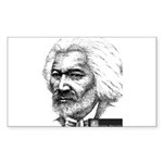 Frederick Douglass Sticker (Rectangle 50 pk)