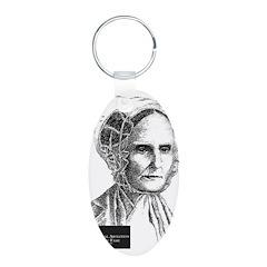 Lucretia Coffin Mott Keychains