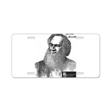 Cute Abolition Aluminum License Plate