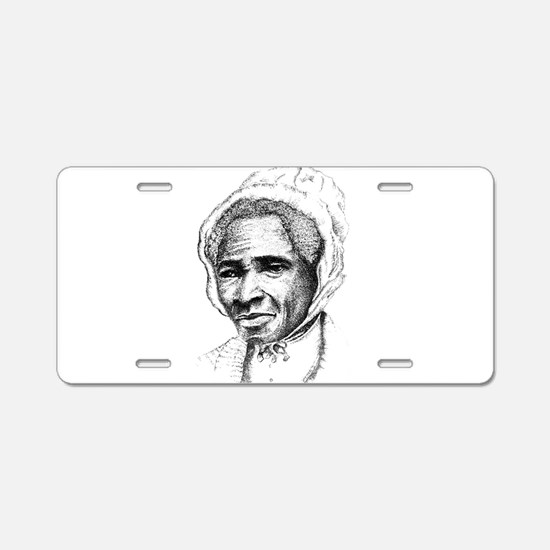 Sojourner Truth Aluminum License Plate